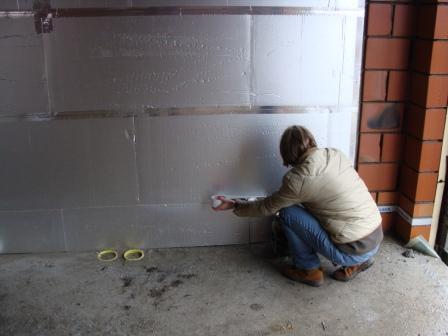 Isoleren Garage Kosten : Week u naden van isolatieplaten afplakken in de garage